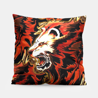 Thumbnail image of King Lion Roar Pillow, Live Heroes