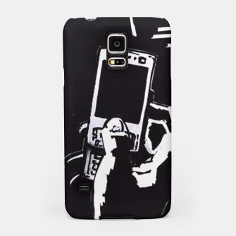 Thumbnail image of black hand samsung case, Live Heroes