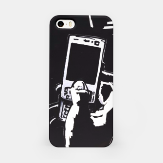 Thumbnail image of Black hand ihone case, Live Heroes
