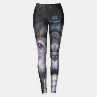 Miniatur Jaguar on the Moon Leggins , Live Heroes