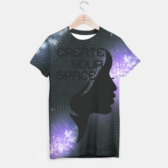 Thumbnail image of Create your space T-shirt, Live Heroes