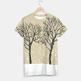 Thumbnail image of Winter T-shirt, Live Heroes