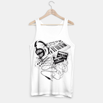 Thumbnail image of Music Tank Top, Live Heroes