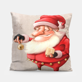 Miniatur Santa Claus Gift and bell, Live Heroes