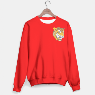 Thumbnail image of Red Tiger logo Sweater, Live Heroes