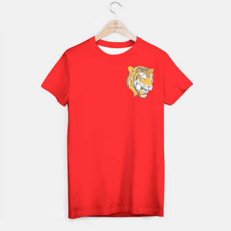 Thumbnail image of Red Tiger T- Shirt, Live Heroes
