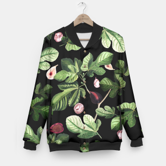 Figs black Baseball Jacket thumbnail image