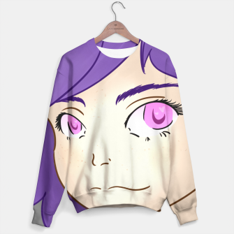 Thumbnail image of purple girl sweater, Live Heroes