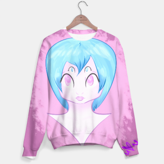 Thumbnail image of Space girl sweater, Live Heroes