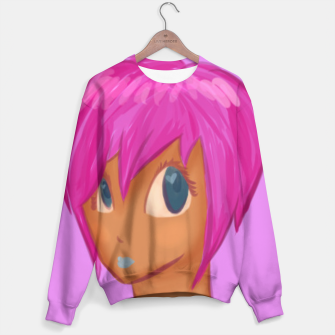 Thumbnail image of Pink girl sweater, Live Heroes