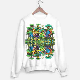 Thumbnail image of Womens Infrasound Music Fest Crewneck, Live Heroes