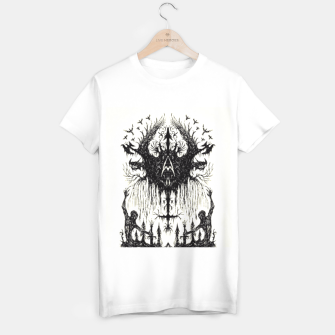 Thumbnail image of Warrior Skeletons White T-Shirt, Live Heroes