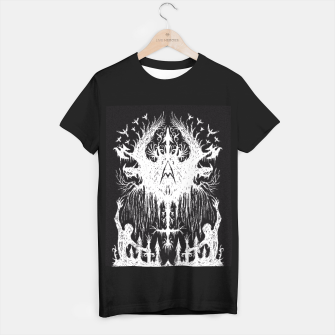 Thumbnail image of Warrior Skeletons  Black T-Shirt, Live Heroes