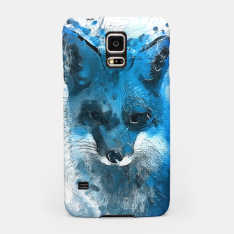 Thumbnail image of Blue Fox  samsung case, Live Heroes