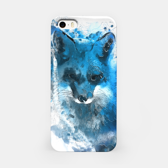 Thumbnail image of Blue Fox  iphone case, Live Heroes