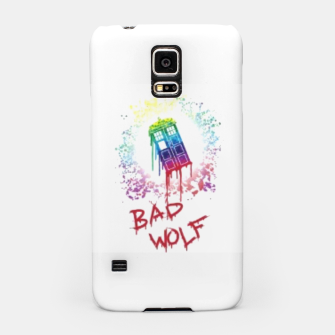 Thumbnail image of Bad wolf dr who phone case , Live Heroes