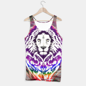 Thumbnail image of Lion Psychedelic TankTop, Live Heroes