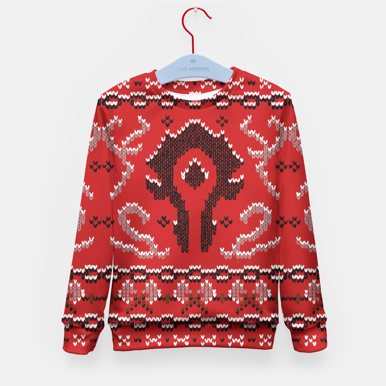 Horde Ugly Sweater Kid S Sweater Live Heroes