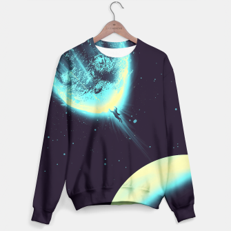 Thumbnail image of There's No Planet To Save Sweater, Live Heroes