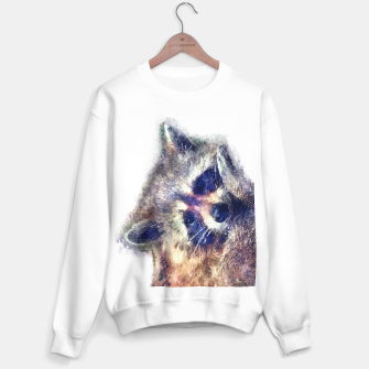 Thumbnail image of Raccoon sweater, Live Heroes