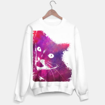 Thumbnail image of red cat sweater, Live Heroes