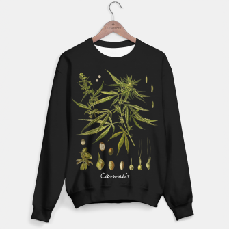 Thumbnail image of Cannabis sweater, Live Heroes