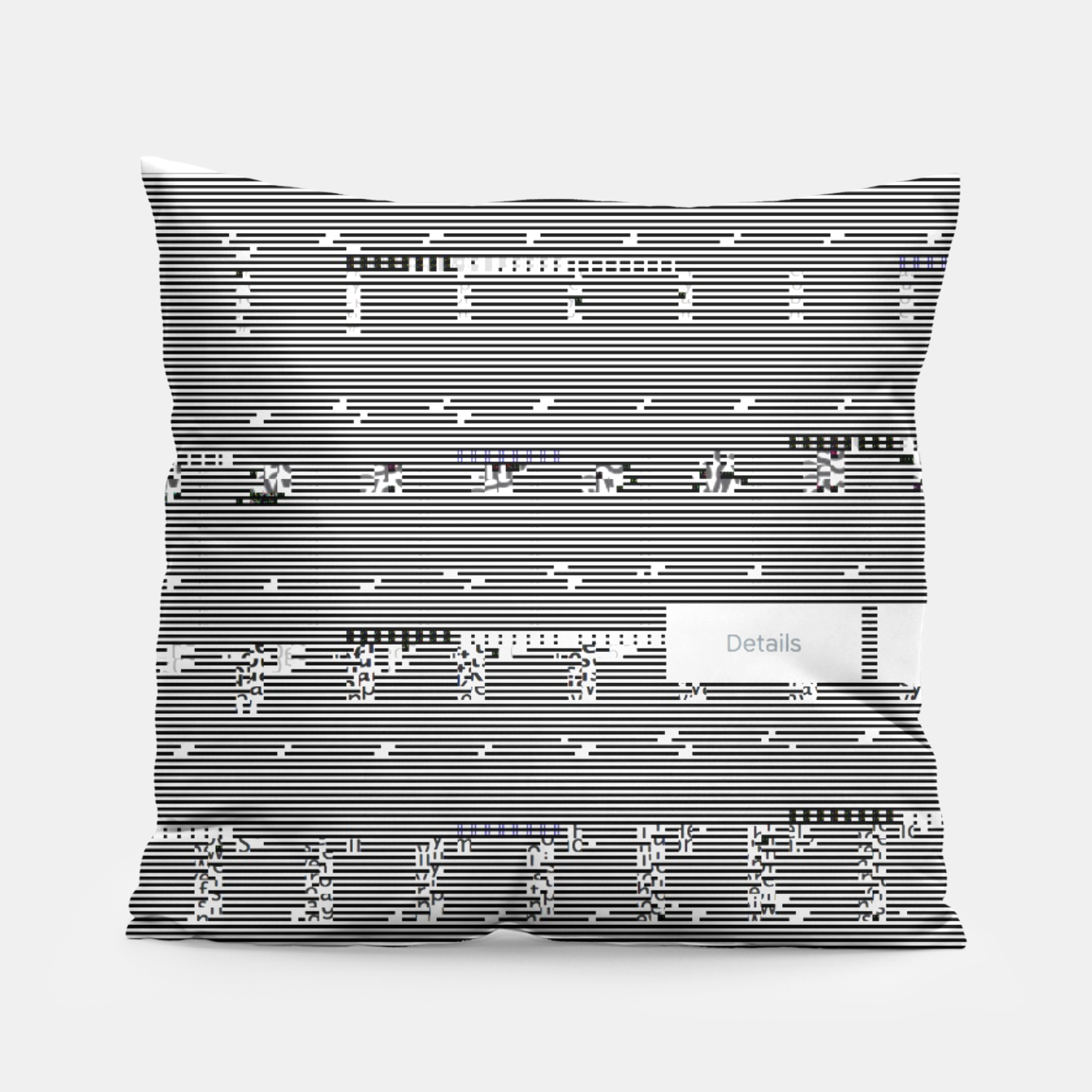 Image of Glitch Pillow - Live Heroes