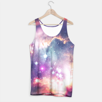 The universe under the microscope (space tilt shift art) Tank Top miniature
