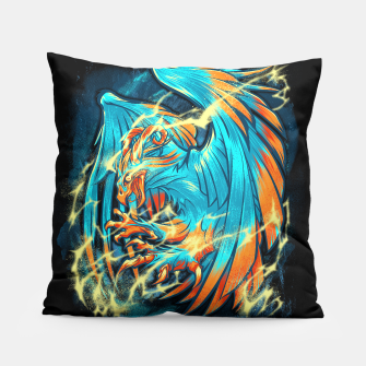 Thumbnail image of BIRD OF THUNDER pillow, Live Heroes