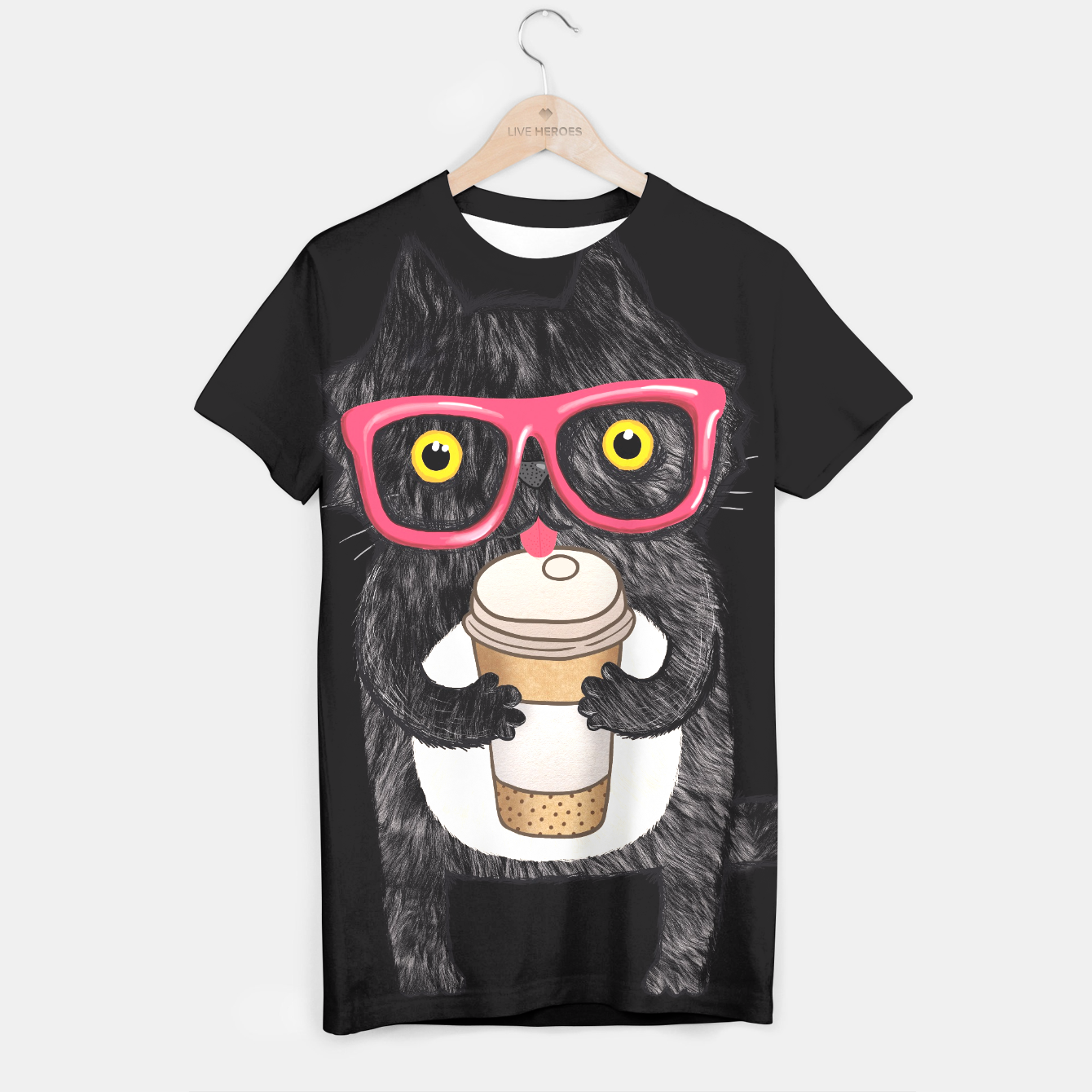 Image of Coffee Cat - Live Heroes