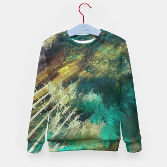 Thumbnail image of tree kids sweater, Live Heroes