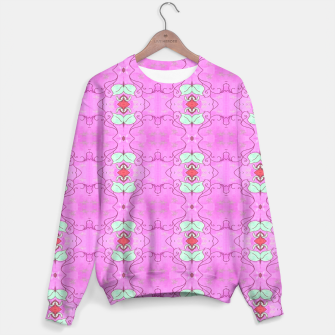 Thumbnail image of Rose Vines Pink Sweater, Live Heroes