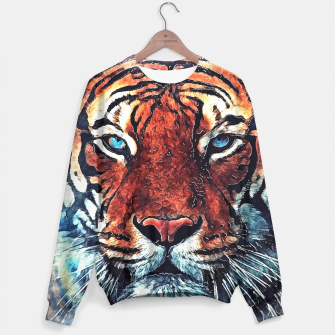 Thumbnail image of Tiger spirit sweater, Live Heroes