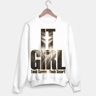 Thumbnail image of IT GIRL Sweater White, Live Heroes
