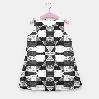 Miniaturka Geometric Girl´s Summer Dress, Live Heroes