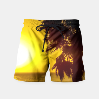 Thumbnail image of Summertime Printed Swim Shorts, Live Heroes