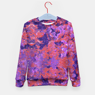 Thumbnail image of Intricate Texture Kids Sweater, Live Heroes
