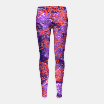 Thumbnail image of Intricate Textured Girl Leggin, Live Heroes