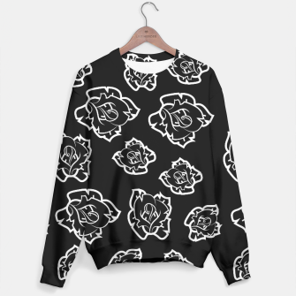 Thumbnail image of Black Flash Rose Sweater, Live Heroes