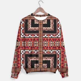 Miniaturka Check Ornate Printed Sweater, Live Heroes