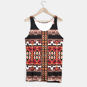 Miniaturka Check Ornate Printed Tank Top, Live Heroes