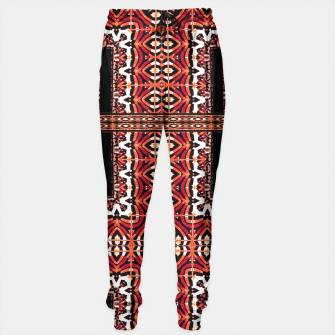 Miniaturka Check Ornate Printed Sweatpant, Live Heroes