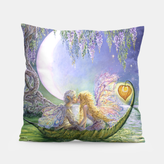 Thumbnail image of Wisteria Moon Pillow, Live Heroes