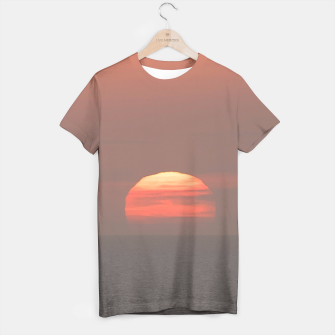 Thumbnail image of Sunset Scene Printed T-Shirt, Live Heroes