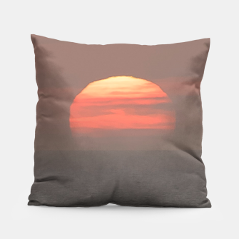 Miniaturka Sunset Scene Printed Pillow, Live Heroes