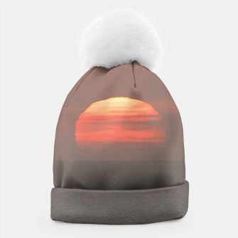 Thumbnail image of Sunset Scene Printed Beanie, Live Heroes