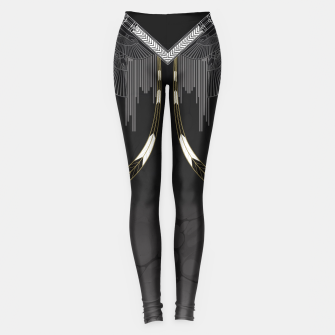 Thumbnail image of Gold & Feather Leggings, Live Heroes