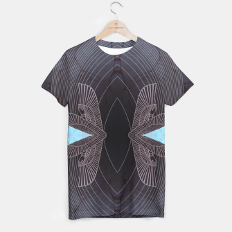 Thumbnail image of Turquoise Wings Tee, Live Heroes