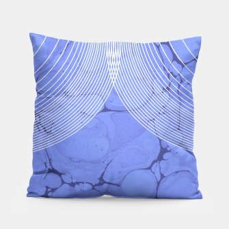 Thumbnail image of Lilac-Lines Pillow, Live Heroes