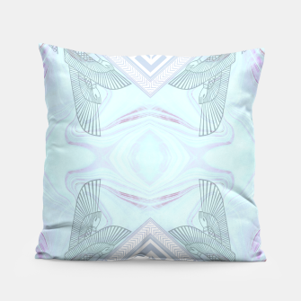 Thumbnail image of Turquoise Goddess Pillow, Live Heroes